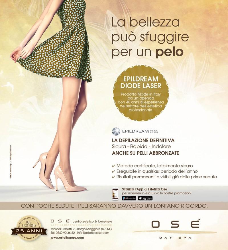 Campagna-pubblicitaria-depilazione-laser-diodo-gambe-gonna-verde