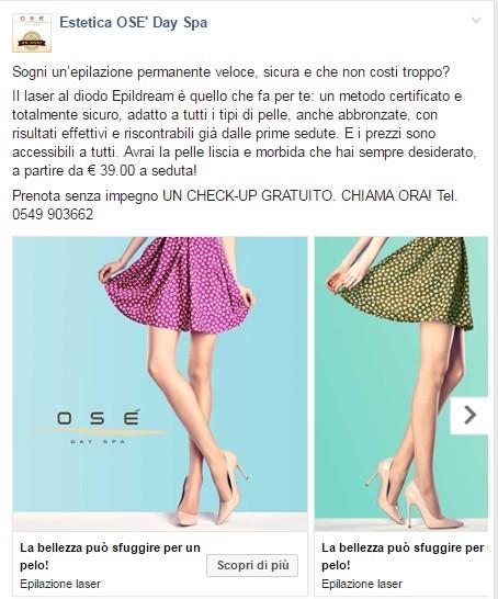 Post-Facebook-Ose-centro-estetico-campagna-pubblicitaria-epilazione-epildream-07-2016