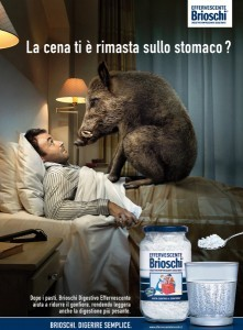 "inserzione pubblicitaria ""Brioschi"""