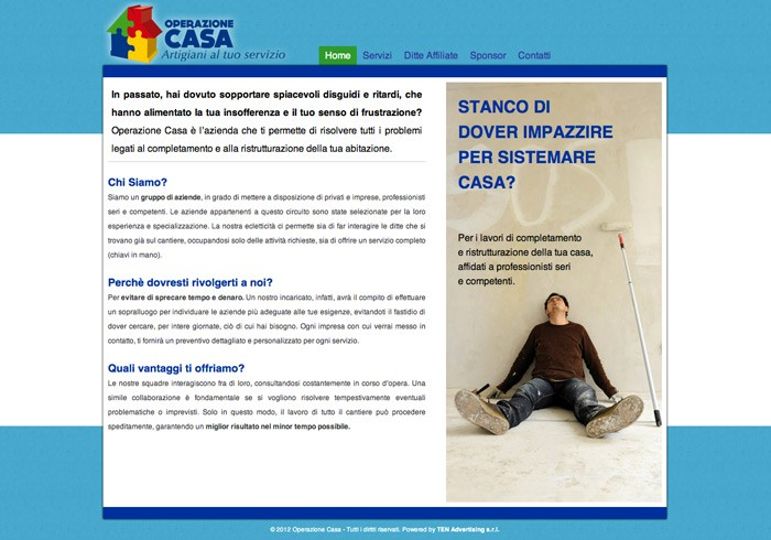Consulenza web per creazione di siti internet for Sito web di progettazione della casa